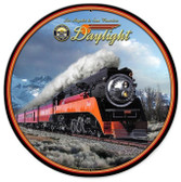 Daylight Winter Round Metal Sign 28 x 28 Inches