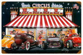 Circus Drive In Vintage Metal Sign 18 x 12 Inches