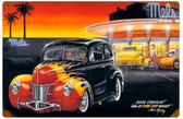 Cool Crusin Vintage Metal Sign 18 x 12 Inches