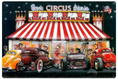 Circus Drive In Vintage Metal Sign 36 x 24 Inches