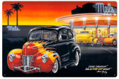 Cool Crusin Vintage Metal Sign 36 x 24 Inches