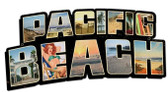 Pacific Beach Landmarks Custom Shape Metal Sign 28 x 15 Inches