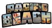 Pacific Beach Landmarks Custom Shape Metal Sign 28 x 15 Inches