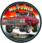 Mo Power Metal Sign 14 x 14 Inches