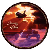 Coming Home Round Metal Sign 28 x 28 Inches
