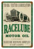 Vintage-Retro Race Lube Metal-Tin Sign