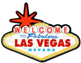 Welcome To Las VegasCustom Metal Shape Sign 28 x 21 Inches
