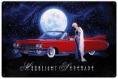 Moonlight Serenade Metal Sign 36 x 24 Inches