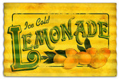Lemonade Corrugated Rustic Barn  Sign 24 x 16 Inches
