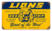 Vintage-Retro Lions Drag Strip Metal-Tin Sign 1