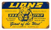 Vintage-Retro Lions Drag Strip Metal-Tin Sign 1
