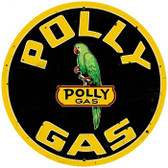Vintage-Retro Polly Gas Metal-Tin Sign