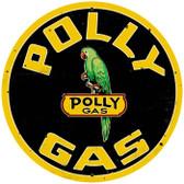 Vintage-Retro Polly Gas Metal-Tin Sign