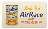 Vintage-Retro Air Race Oil Metal-Tin Sign