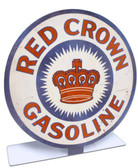 Red Crown Gasoline Table Topper  8 x 8 Inches