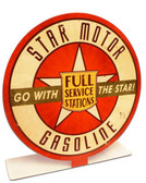 Star Motor Gas Table Topper  8 x 8 Inches