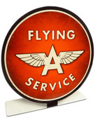 Flying A Service Table Topper  8 x 8 Inches