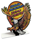 Harley Eagle Table Topper 8 x 8 Inches