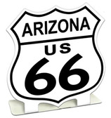 Route 66 Arizona  Table Topper 7 x 7 Inches