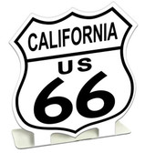 Route 66 California Table Topper 7 x 7 Inches