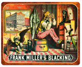 Frank Miller Blackening Vintage Metal Sign 15  x 12 Inches