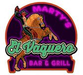 Retro Vaquero Lounge Metal Sign - Personalized 16 x 16 Inches