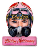 Vintage-Retro Muldowney Helmet Metal-Tin Sign