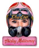 Vintage-Retro Muldowney Helmet Metal-Tin Sign