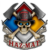 Haz Mat Metal Sign 16 x 16 Inches