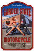 Garden State Day Metal Sign 20 x 30 Inches