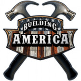 Building America Carpenter Metal Sign 18 x 18 Inches