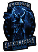 American Electrician Metal Sign 24 x 16 Inches