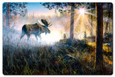 Walk In The Mist Metal Sign 24 x 16 Inches