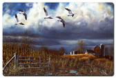 Autumn Snows Metal Sign 24 x 16 Inches