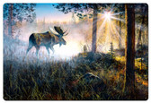 Walk In The Mist Metal Sign 36 x 24 Inches