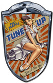 Grill Metal Sign Spark One Up 24 x 36 Inches