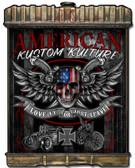 Radiator American Kustoml Kulture Metal Sign 24 x 32 Inches
