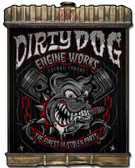 Radiator Dirty Dog Metal Sign 24 x 32 Inches