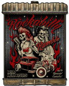 Radiator Rockabilly Metal Sign 24 x 32 Inches