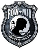 POW MIA Metal Sign 24 x 30 Inches