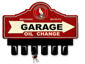 White Eagle Gasoline Metal Key Hanger 14 x 10 Inches