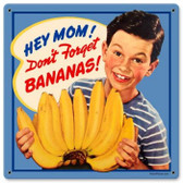Vintage-Retro Bananas Metal-Tin Sign