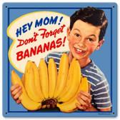 Vintage-Retro Bananas Metal-Tin Sign