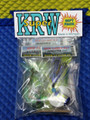 KRW Super Gift Pack Flies, Cut Bait Rig & Laker Fly For Trolling Use 3 Pack COLORS MAY VARY!