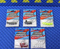 Z-MAN Finesse ShroomZ 1/6oz Ned Rig Jig Heads 5 Pack FJH16-PK5 Series CHOOSE YOUR COLOR!