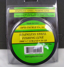 OPTI-TACKLE STAINLESS STEEL FISHING LINE