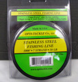 OPTI TACKLE STAINLESS STEEL FISHING LINE