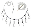 BERKLEY 15 FOOT DELUXE CORD STRINGER WITH STAINLESS STEEL SNAPS #BADCS15