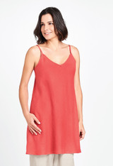 Cami Tunic in Tomato.