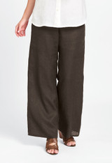 Playful Pant in Coffee Handkerchief.